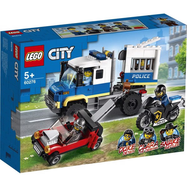 Image of Politiets fangetransport - 60276 - LEGO City (60276)