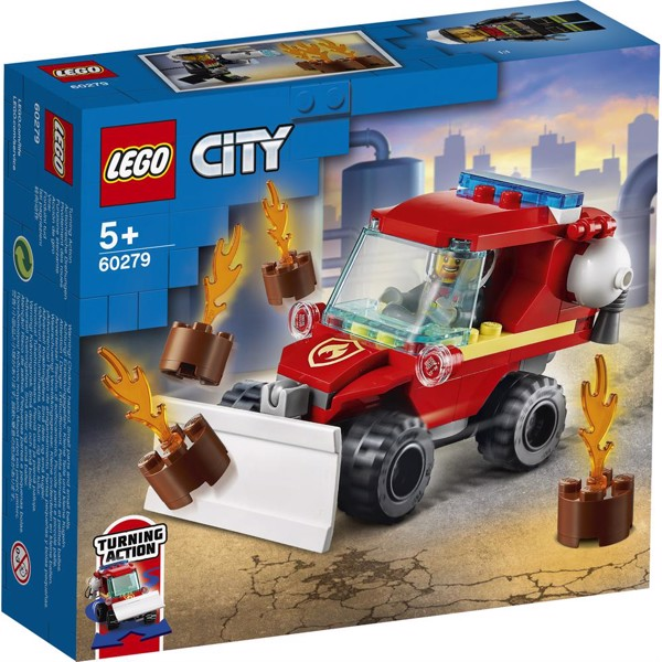 Image of Brandslukningsbil - 60279 - LEGO City (60279)