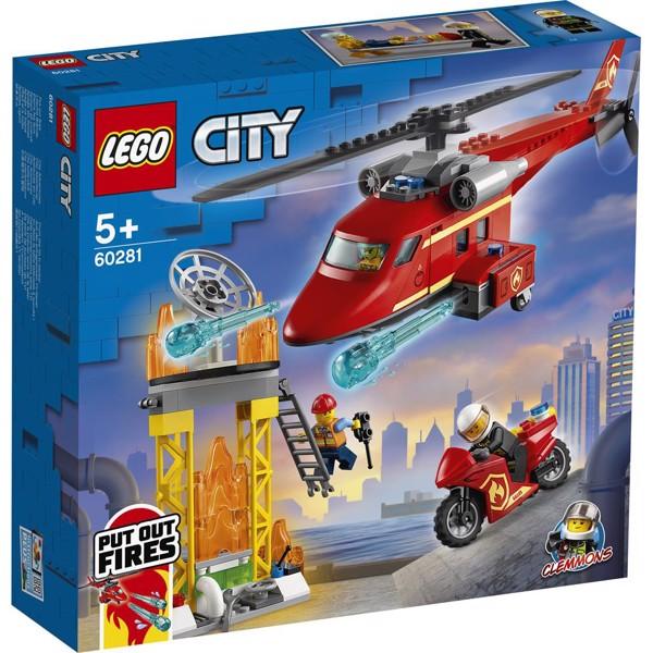 Image of Brandvæsnets redningshelikopter - 60281 - LEGO City (60281)