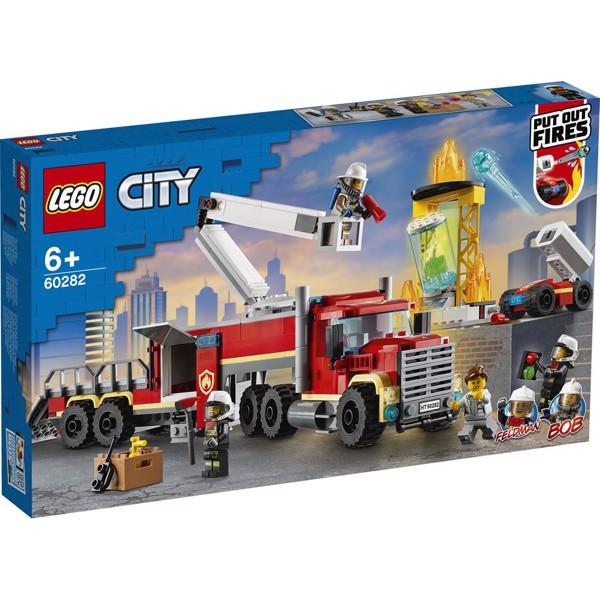 Image of Brandvæsnets kommandoenhed - 60282 - LEGO City (60282)