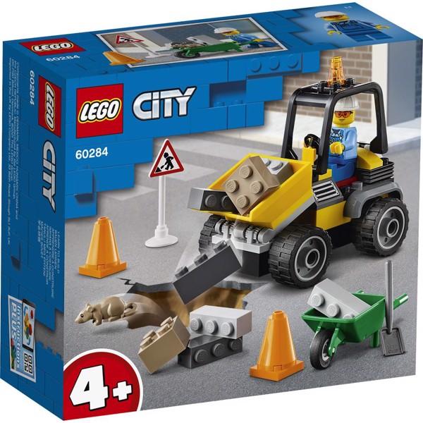 Image of Vejarbejdsvogn - 60284 - LEGO City (60284)