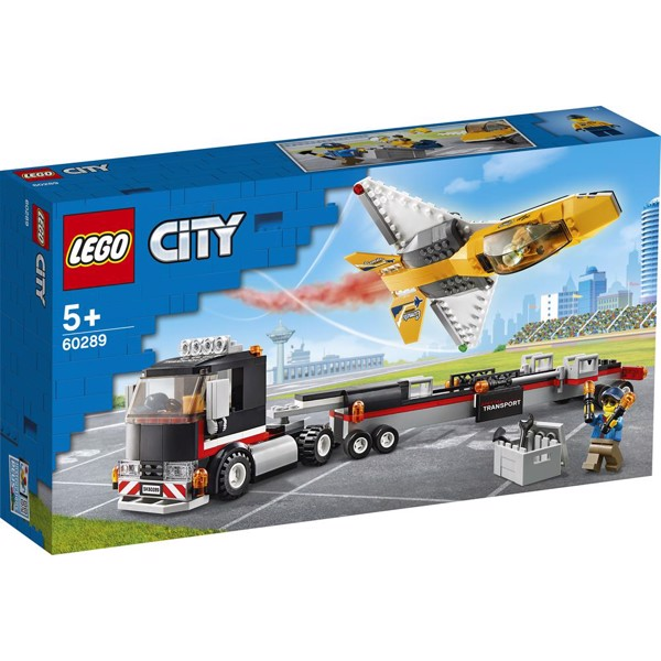 Image of Luftshowjet-transporter - 60289 - LEGO City (60289)