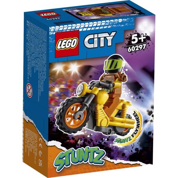 Image of Nedrivnings-stuntmotorcykel - 60297 - LEGO City (60297)