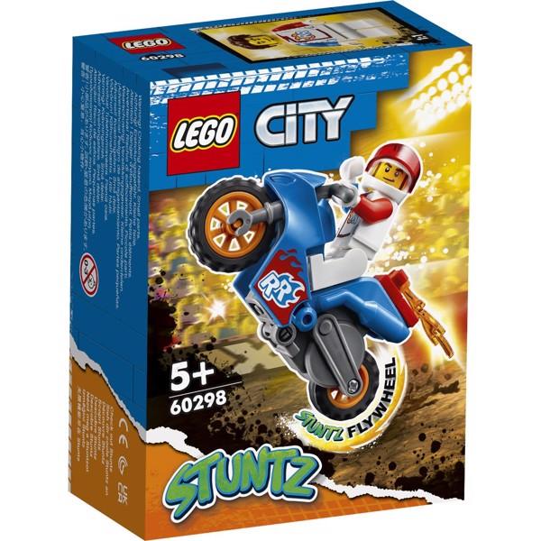 Image of Raket-stuntmotorcykel - 60298 - LEGO City (60298)