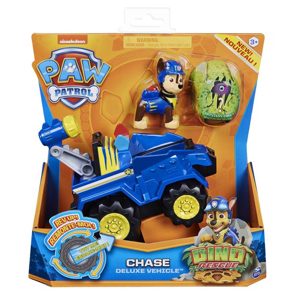 Image of Dino Deluxe Vehicles Chase - Paw Patrol (MAK-6058597)
