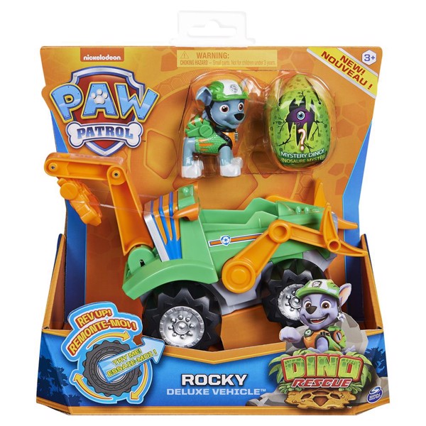 Image of Dino Deluxe Vehicles Rocky - Paw Patrol (MAK-6059525)