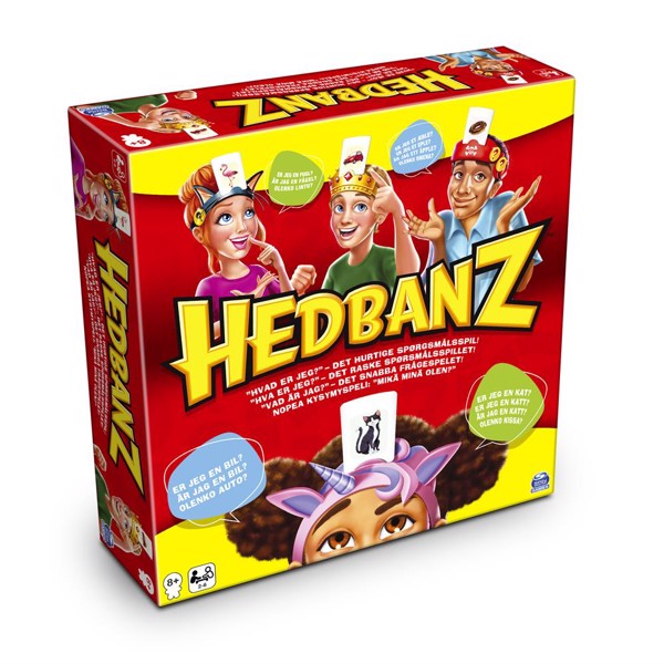 Image of Nordic Original Hedbanz - Fun & Games (MAK-6059938)