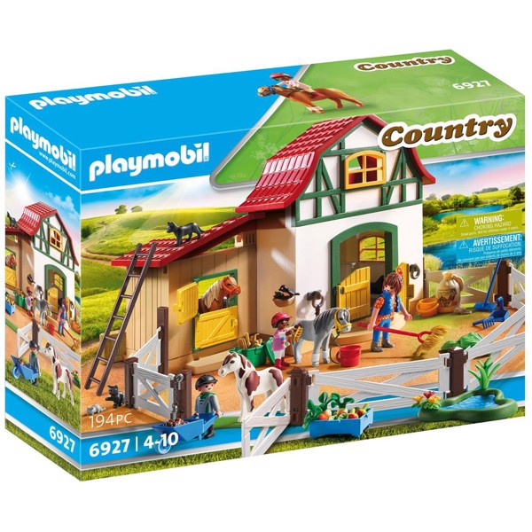 Image of Ponypark - PL6927 - Playmobil Country (PL6927)