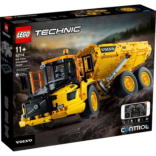 Image of 6x6 Volvo Articulated Hauler - 42114 - LEGO Technic (42114)