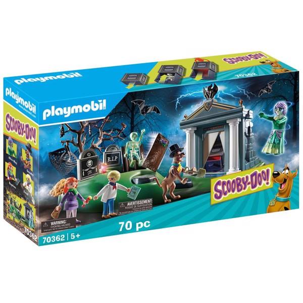 Image of Eventyr på kirkegården - PL70362 - PLAYMOBIL Scooby Doo (PL70362)