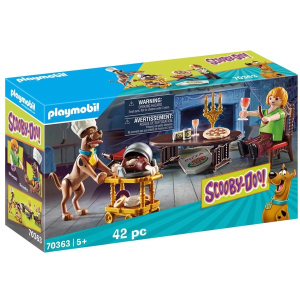 Image of Aftensmad med Shaggy - PL70363 - PLAYMOBIL Scooby Doo (PL70363)