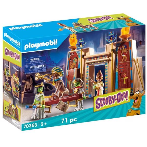 Image of Eventyr i Egypten - PL70365 - PLAYMOBIL Scooby Doo (PL70365)