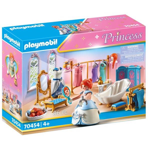 Image of Påklædningsværelse med badekar - PL70454 - PLAYMOBIL Princess (PL70454)