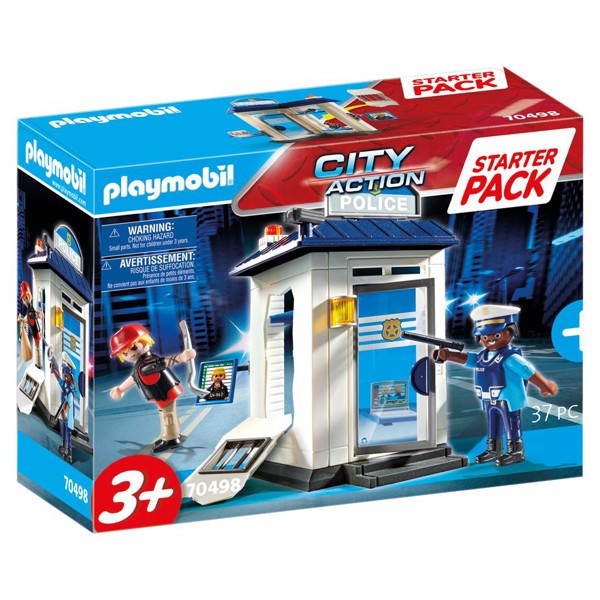 Image of Startpakke Politi - PL70498 - PLAYMOBIL City Action (PL70498)