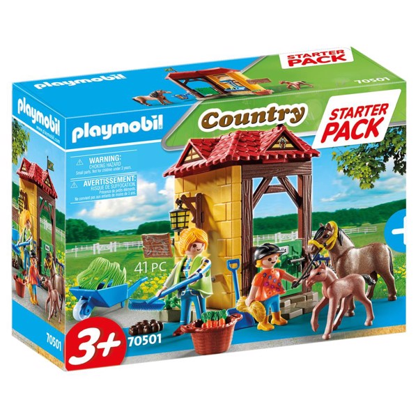 Image of Startpakke Rideskole - PL70501 - PLAYMOBIL Country (PL70501)