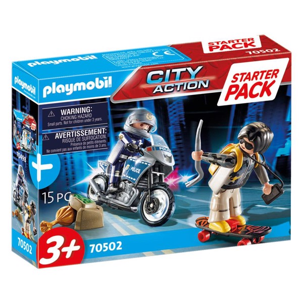 Image of Startpakke Politi Ekstraudstyr - PL70502 - PLAYMOBIL City Action (PL70502)