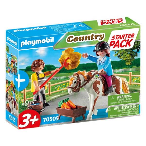 Image of Startpakke Rideskole Ekstraudstyr - PL70505 - PLAYMOBIL Country (PL70505)