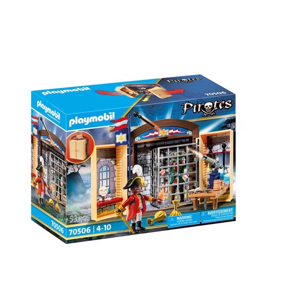 "Image of Legekasse ""Pirateventyr"" - PL70506 - PLAYMOBIL Pirates (PL70506)"