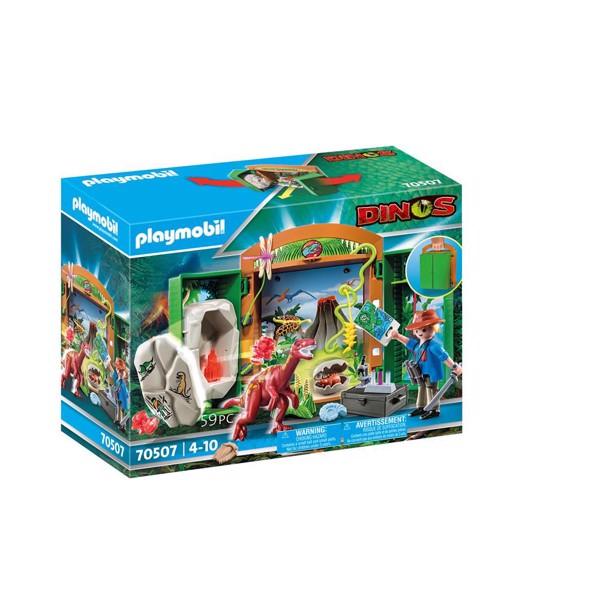 "Image of Legekasse ""Dinoforsker"" - PL70507 - PLAYMOBIL Dino (PL70507)"