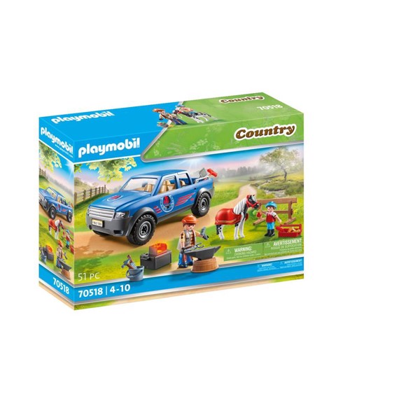 Image of Mobile Farrier - PL70518 - PLAYMOBIL Country (PL70518)