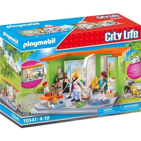 Image of Min børnelægepraksis - PL70541 - PLAYMOBIL City Life (PL70541)