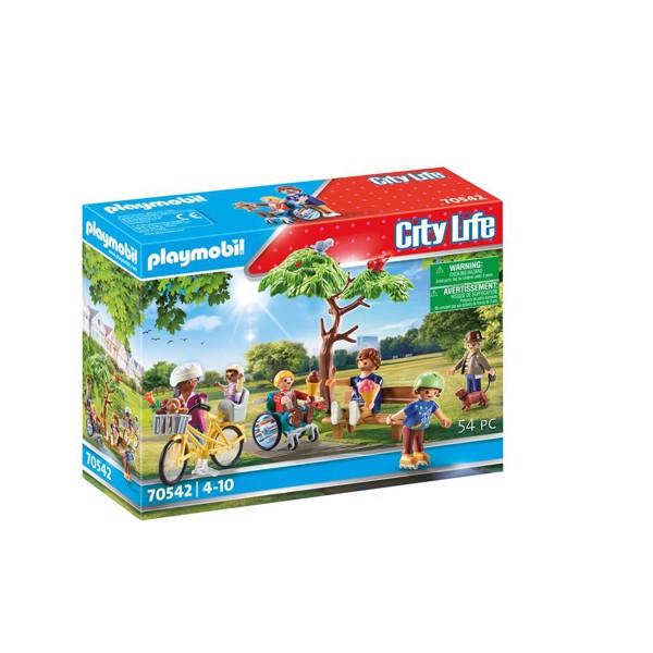 Image of I byparken - PL70542 - PLAYMOBIL City Life (PL70542)