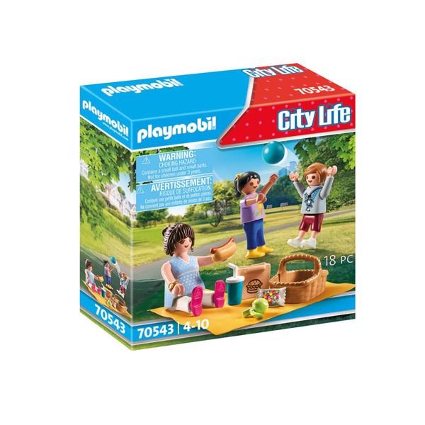 Image of Picnic i parken - PL70543 - PLAYMOBIL City Life (PL70543)