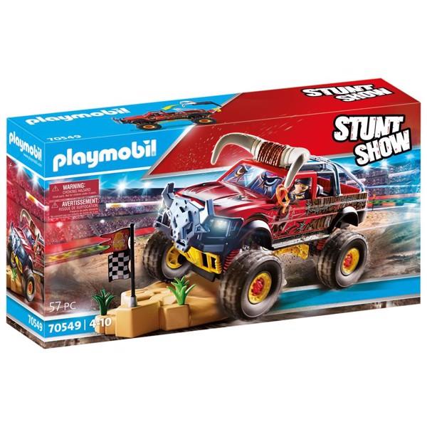 Image of Stuntshow Monster Truck med horn - PL70549 - PLAYMOBIL Stunt Show (PL70549)
