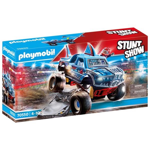 Image of Stuntshow Monster Truck Hval - PL70550 - PLAYMOBIL Stunt Show (PL70550)