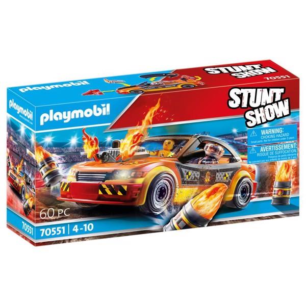 Image of Stuntshow Crashcar - PL70551 - PLAYMOBIL Stunt Show (PL70551)