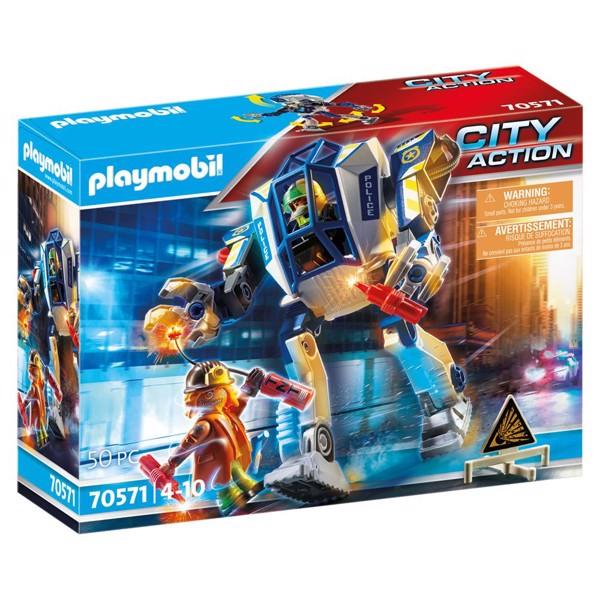 Image of Politirobot: Specialindsats - PL70571 - PLAYMOBIL City Action (PL70571)