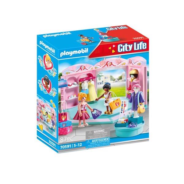 Image of Fashion Store - PL70591 - PLAYMOBIL City Life (PL70591)