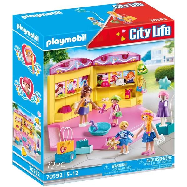 Image of Kids Fashion Store - PL70592 - PLAYMOBIL City Life (PL70592)