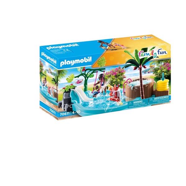Image of Børnebad med boblebad - PL70611 - PLAYMOBIL Family Fun (PL70611)