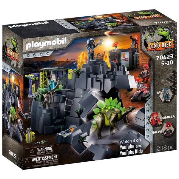 Image of Dino Rock - PL70623 - PLAYMOBIL Dinos (PL70623)