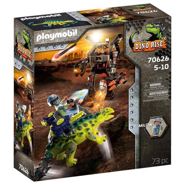 Image of Saichania: Invasion of the Robot - PL70626 - PLAYMOBIL Dinos (PL70626)