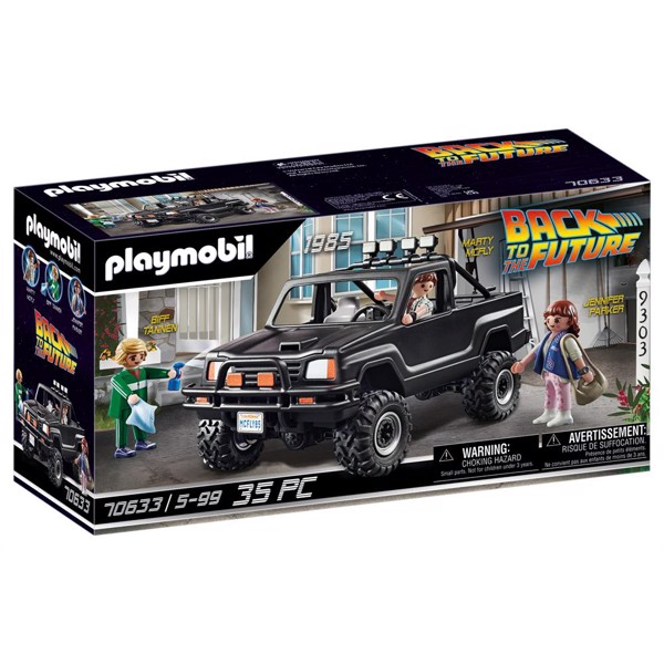 Image of Back to the Future Marty's Pickup Truck - PL70633 - PLAYMOBIL Back to the future (PL70633)