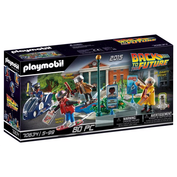 Image of Back to the Future Part II Hoverboard Jagt - PL70634 - PLAYMOBIL Back to the future (PL70634)