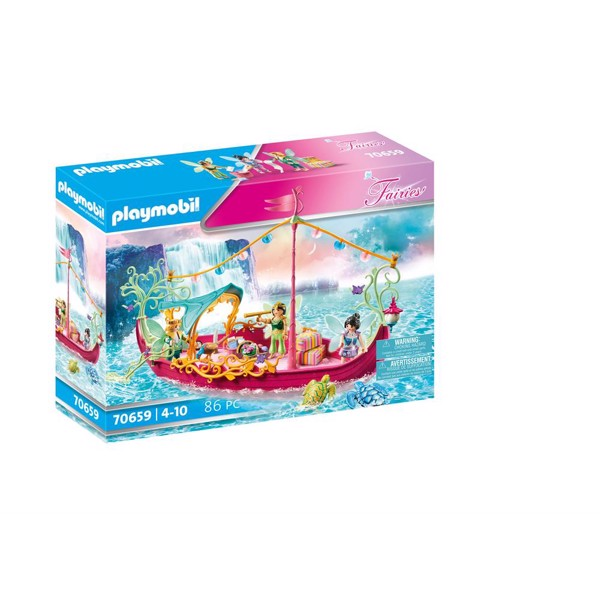 Image of Romantisk febåd - PL70659 - PLAYMOBIL Fairies (PL70659)
