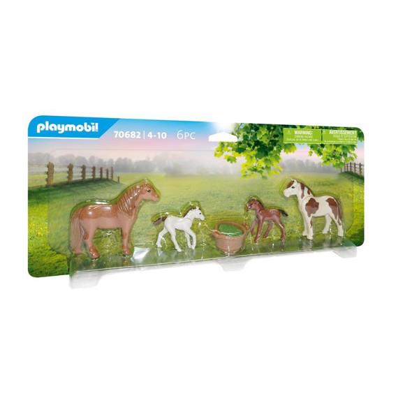 Image of Ponyer med føl - PL70682 - PLAYMOBIL Country (PL70682)