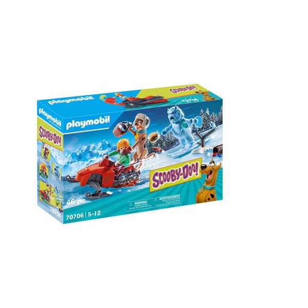 Image of SCOOBY-DOO! Adventure with Snow Ghost - PL70706 - PLAYMOBIL Scoopy Doo (PL70706)