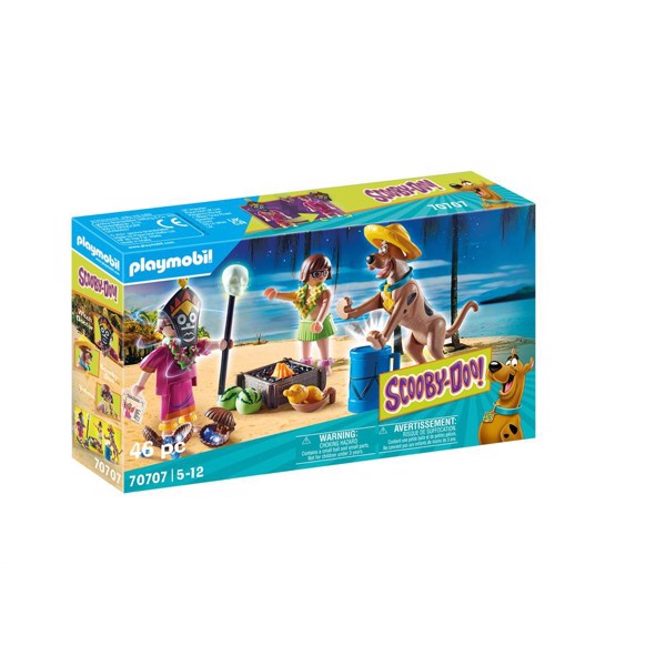 Image of SCOOBY-DOO! Adventure with Witch Doctor - PL70707 - PLAYMOBIL Scoopy Doo (PL70707)
