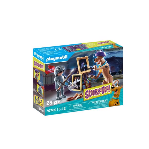 Image of SCOOBY-DOO! Adventure with Black Knight - PL70709 - PLAYMOBIL Scoopy Doo (PL70709)