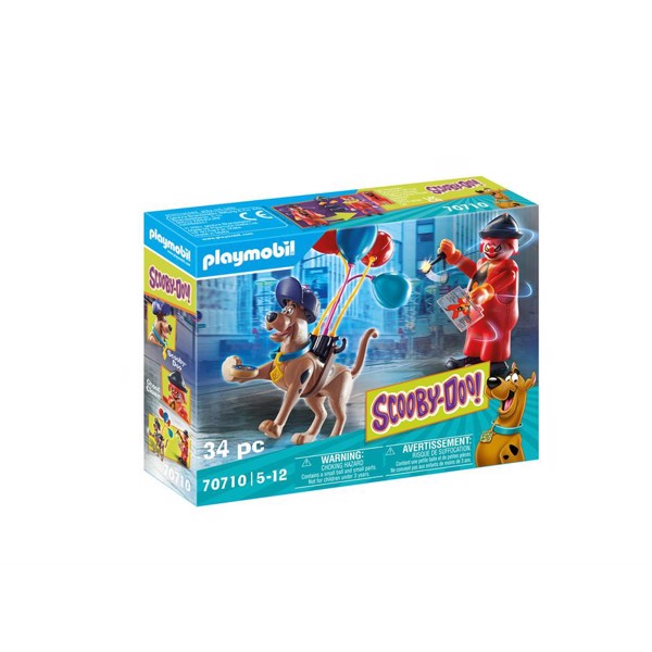 Image of SCOOBY-DOO! Adventure with Ghost Clown - PL70710 - PLAYMOBIL Scoopy Doo (PL70710)