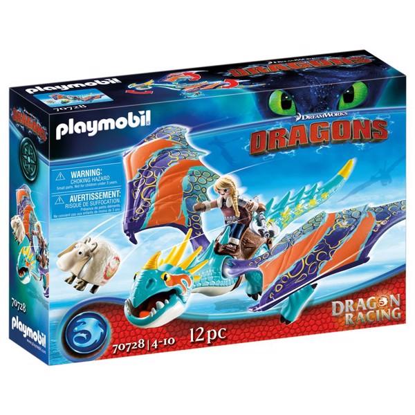 Image of Dragon Racing: Astrid and Stormfly - PL70728 - PLAYMOBIL Dragons (PL70728)