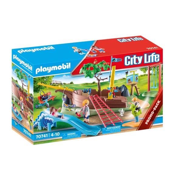Image of Eventyrlegeplads med skibsvrag - PL70741 - PLAYMOBIL City Life (PL70741)