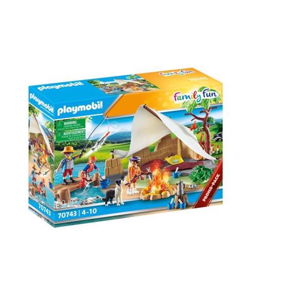 Familie på campingtur - PL70743 - PLAYMOBIL Family Fun - Nyheder PLAYMOBIL
