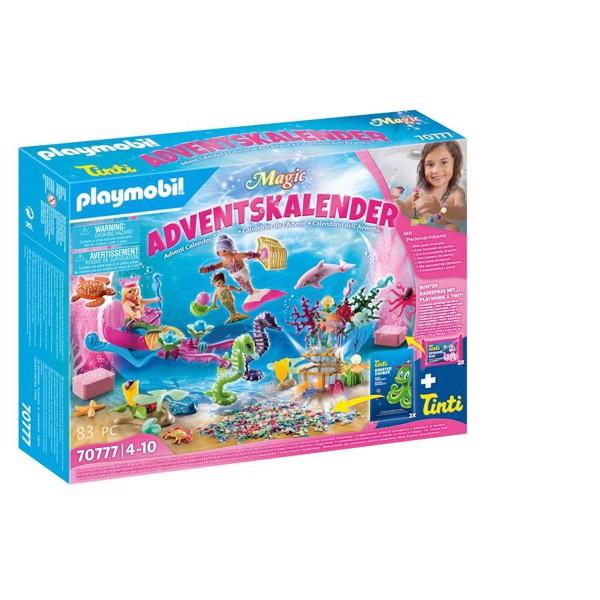 Image of Bathtime Fun Magical Mermaids - PL70777 - PLAYMOBIL Julekalender (PL70777)
