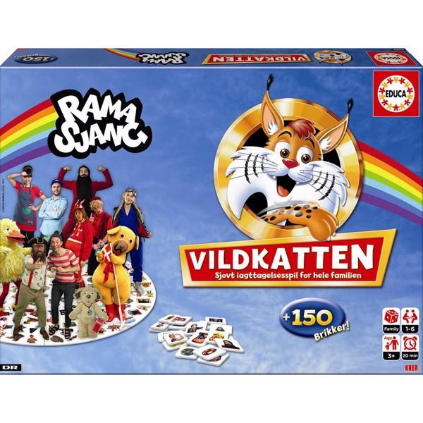 Image of Vildkatten Ramasjang - Fun & Games (MAK-709)