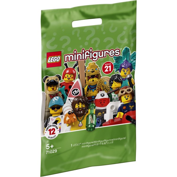 Image of Serie 21 - 71029 - LEGO Minifigures (71029)